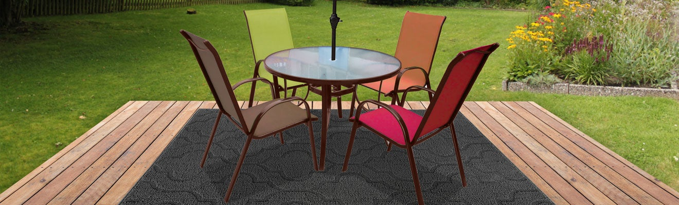 Colorful Party Patio