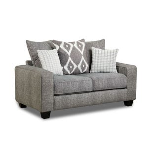 Viewpoint Gray Loveseat