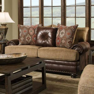 Pinehurst Chenille Loveseat