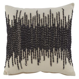 Posh Embroidered Pillow