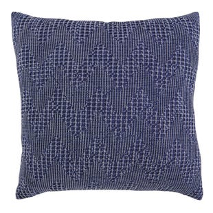 Navy Chevron Pillow