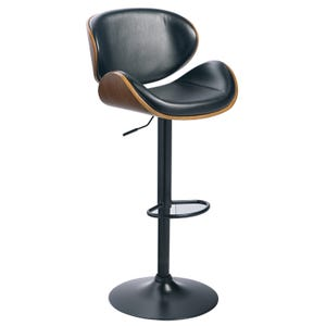 Heig II Mid Century Modern Adjustable Swivel Barstool