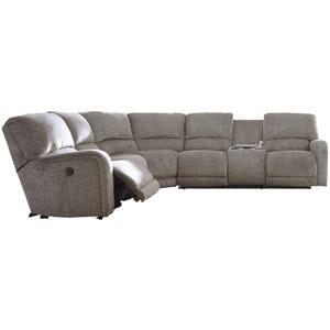 Ashley Pittsfield Fossil Power Reclining Sectional
