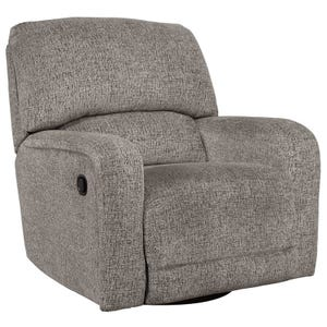 Ashley Pittsfield Fossil Swivel Glider Recliner