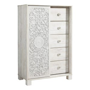 Ashley Willowton White Wash Dressing Chest