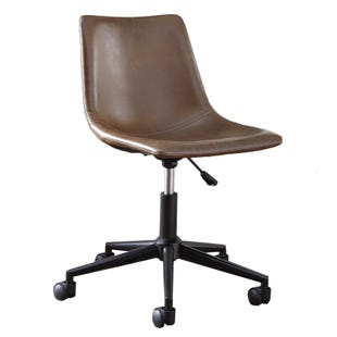 Ashley Riley Brown Swivel Desk Chair