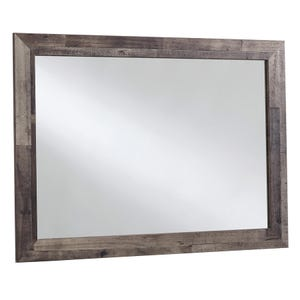 Derekson Butcher Block Mirror