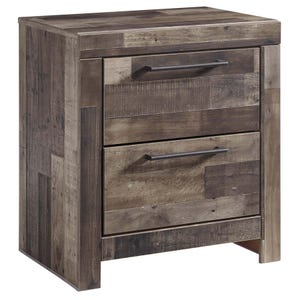 Derekson Butcher Block Nightstand
