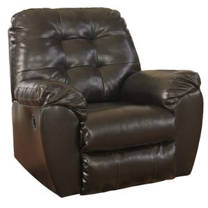 Ashley Alliston Brown Rocker Recliner