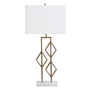 Champagne Marble Table Lamp