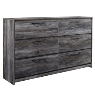 Ashley Baystorm Smokey Gray 6 Drawer Dresser