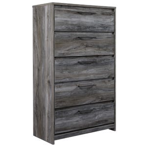 Ashley Baystorm Smokey Gray 5 Drawer Chest