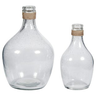 Cottage Glass Vase Set M/L