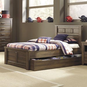 Juararo Twin Bed with Storage
