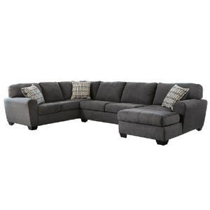Ashley Sorenton Slate Gray Chaise Sectional