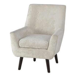 Zoey Cream Accent Chair