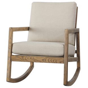 Jayden Natural Linen Rocker