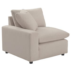 Ashley Salerno Cream LAF Corner Chair