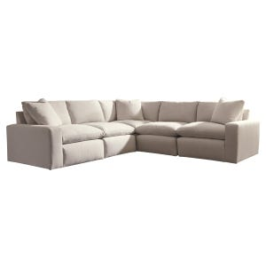 Ashley Salerno Cream 5 Piece Sectional