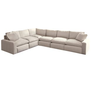 Ashley Salerno Cream 6 Piece Sectional