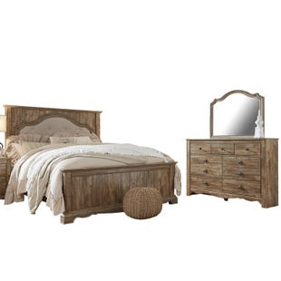 Ashley Shellington Light Brown Queen Bedroom Set