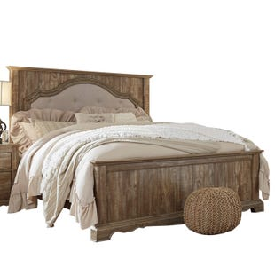 Ashley Shellington Light Brown Queen Bed