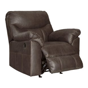Boxberg Gray Rocker Recliner