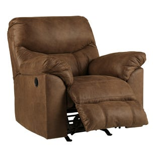 Boxberg Brown Rocker Recliner