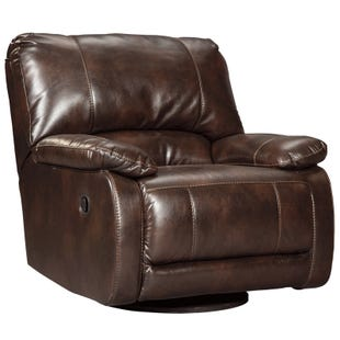 Ashley Hallettsville Saddle Swivel Glider Recliner
