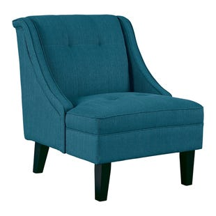 Claire Teal Accent Chair