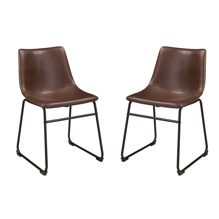 Centair Mid Century Modern Set Of 2 Modern Dining Chairs Weekends Only Furniture