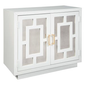 Deco Mirror Accent Chest