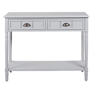 Gray Console Sofa Table