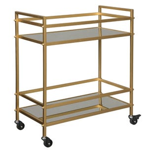 Eva Gold Bar Cart