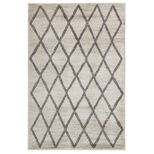 Lattice Grey 8X10 Rug