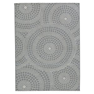 Steel Geo Indoor/Outdoor Rug