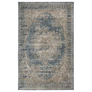 Antique Blue 8X10 Rug