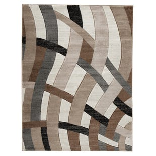 Neutral Waves 8X10 Rug