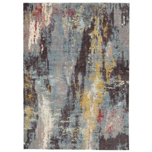 Colorful Abstract 5X7 Rug