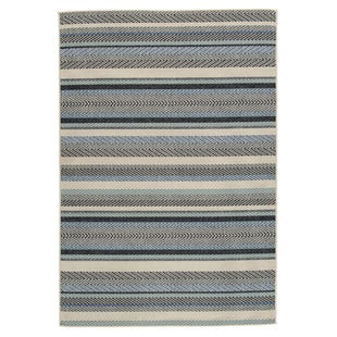 Seaside Stripe 8x10 Indoor/Outdoor Rug