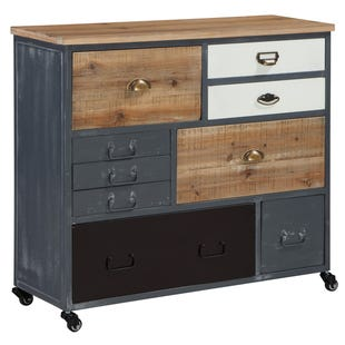 Sawyer Reclaimed Accent Cabinet