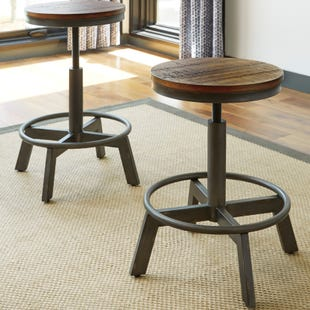 Torjin Set of 2 Stools