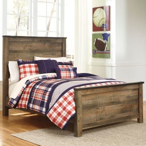 Trinet Full Bed with Slat