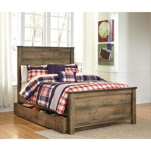 Trinet Full Trundle Bed
