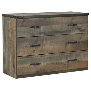 Ashley Trinet Rustic Plank Loft Drawer Storage
