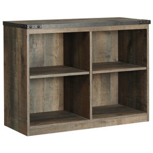 Ashley Trinet Rustic Plank Loft Bookcase