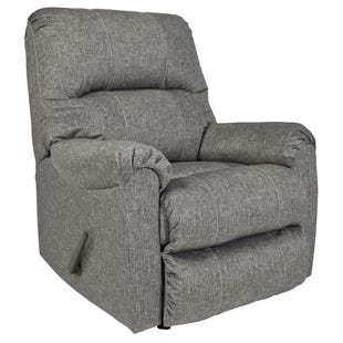 Malmaison Gray Rocker Recliner