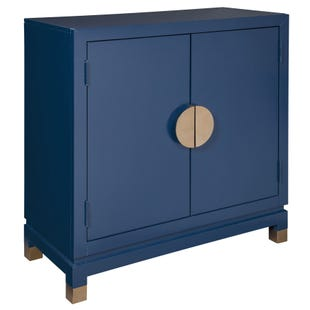 Ashley Walentin Blue Accent Chest