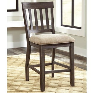 Dresbar Upholstered Counter Stool