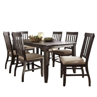 Ashley Dresbar 7 Piece Rustic Farmhouse Dining Set